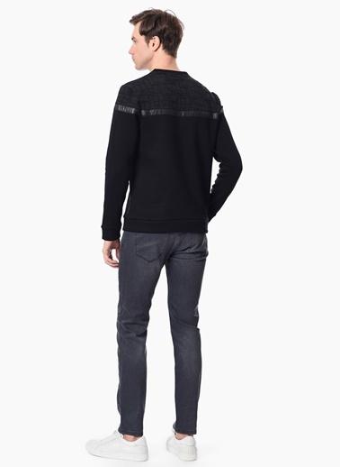 NetWork Sweatshirt Siyah